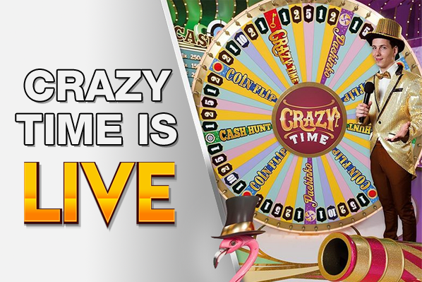 Crazy Time Is LIVE