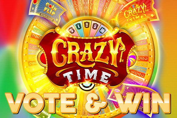 Crazy Time Vote & Win