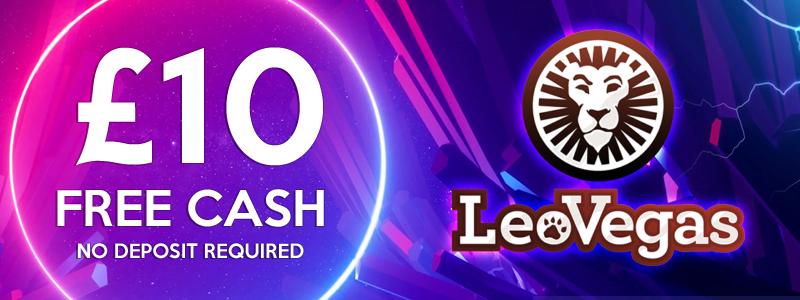 £10 Free Cash Banner