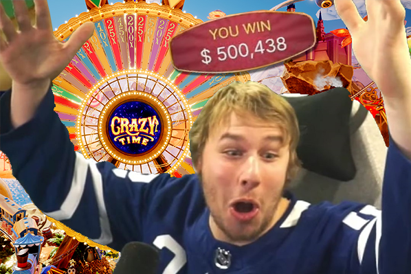 Streamer Xposed Hits $500,000 Win On Crazy Time Bonus