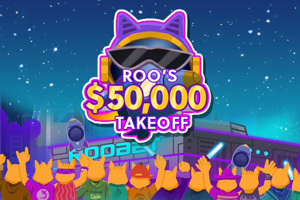 Roobet Announces: Roo's $50,000 Take Off