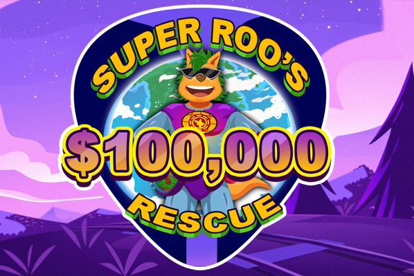 Super Roo has arrived to SAVE THE PLANET!