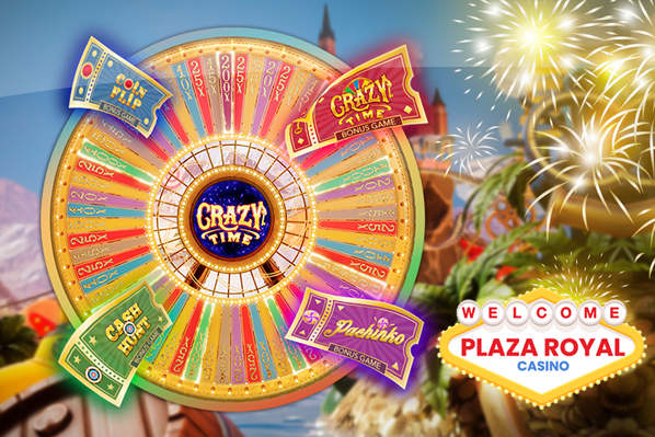 Plaza Royal Goes Crazy Over Crazy Time